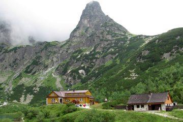 Hiking in Tatra mountains - Zelené pleso mountain hut