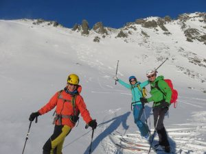Ski touring in the High Tatras - Mengusovska valley