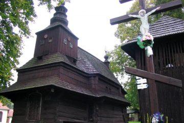 Wooden church in Ruský Potok