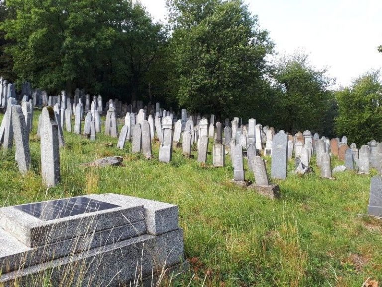 Slovakia ancestry tours - Jewish cemetery in Michalovce