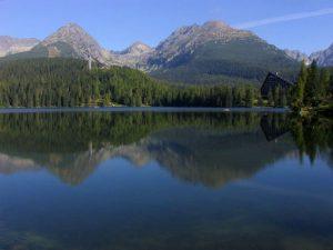 High Tatras - mountain lake Štrbské pleso